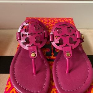 Tory Burch Shoes - NEW Tory Burch Miller Safiano Patent